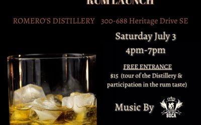 Romero Distillery's Carifest 40th Anniversary Rum Launch